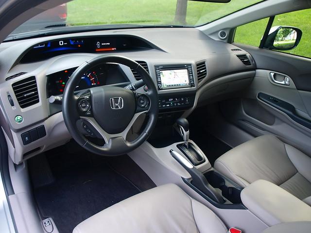 2012 Honda Civic Hybrid 9