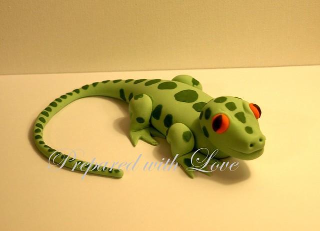 Lizard Cake Topper