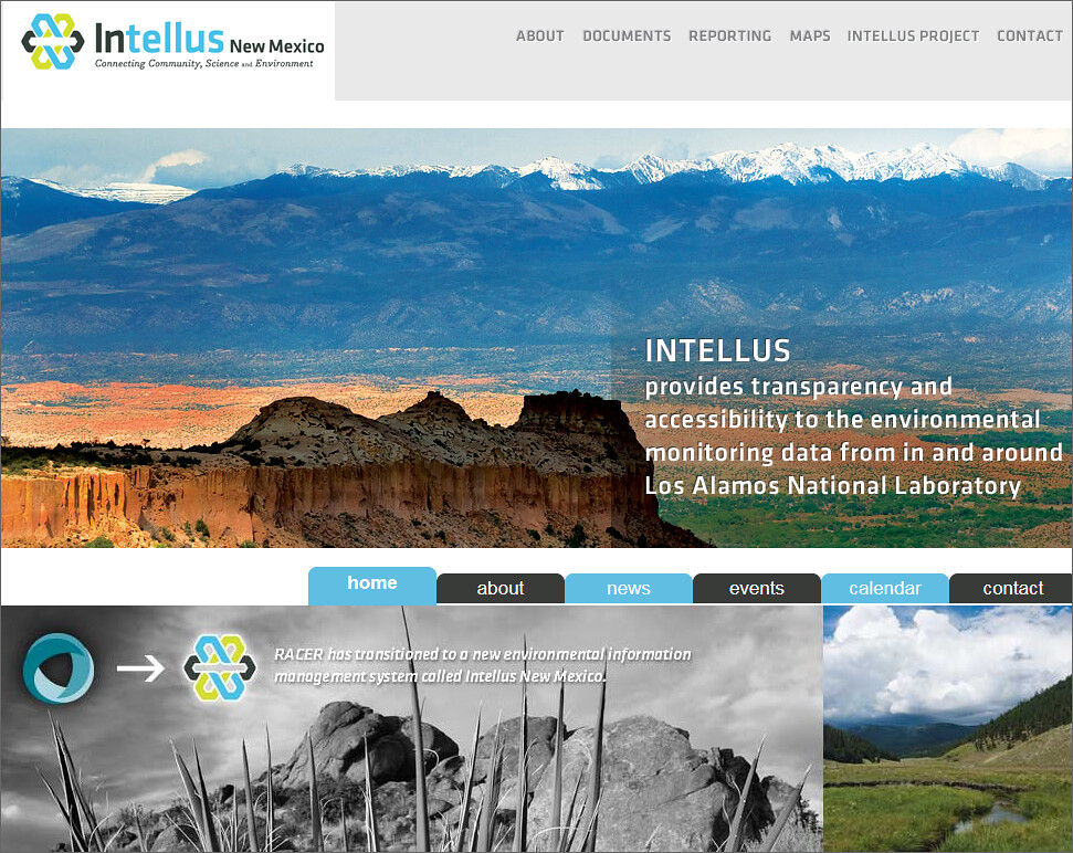 Intellus environmental data