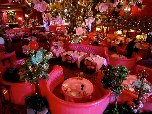 Madonna Inn Pink Dining Room