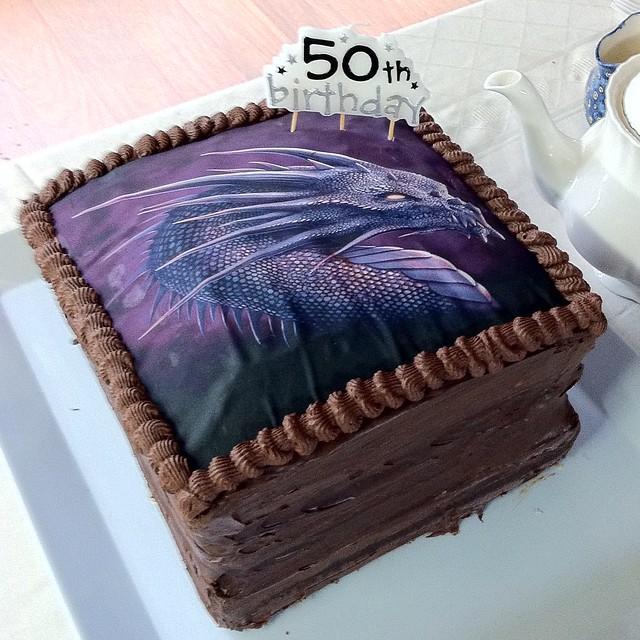 Trove Birthday Cake