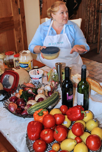 Teri at On Rue Tatin Cooking Class in South Dakota