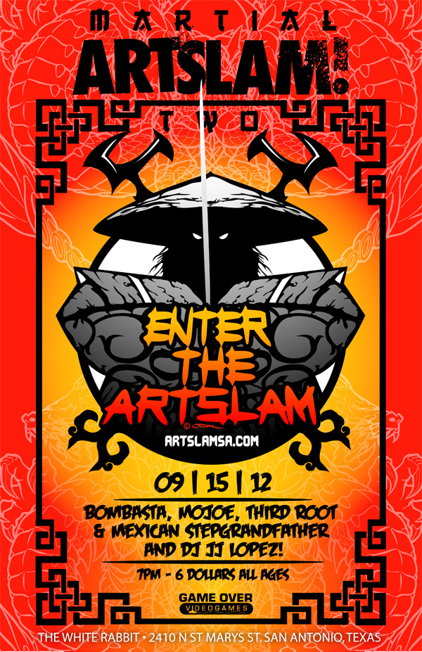 Enter the artslam_web