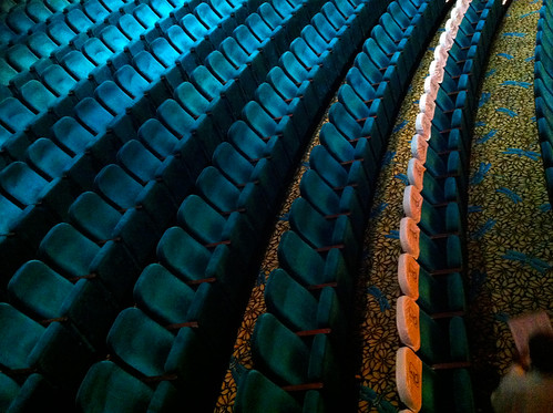 Norwegian Pearl - Stardust Theatre Seats