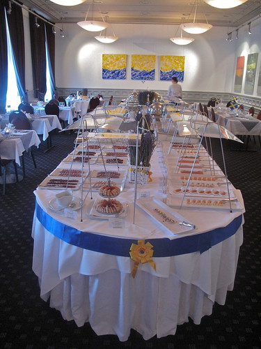 Swedish Summer Smorgasbord at Au Premier, Zürich, Switzerland