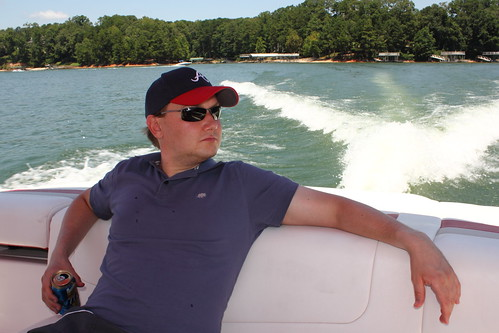 Iiro in the Boat