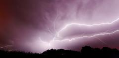 [フリー画像素材] 自然風景, 雷・落雷・稲妻, 嵐 ID:201208050000