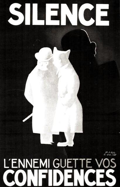 Paul Colin. Silence. 1940