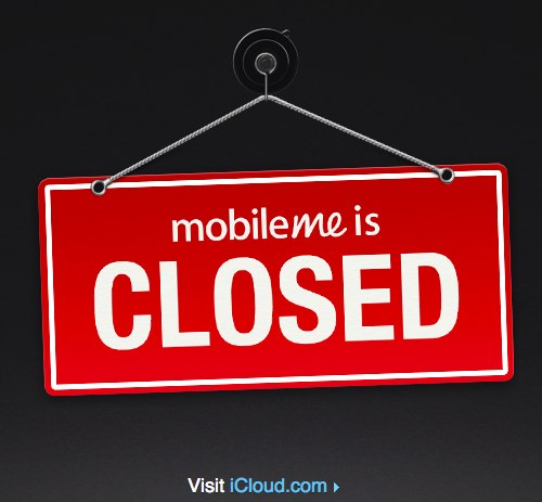 Mobile Me is Closed