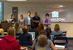 King's College students become acquainted with Corizon correctional healthcare