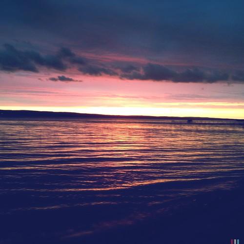 sunset lake michigan iphone indianriver northernmichigan hipstamatic burtlakesunset