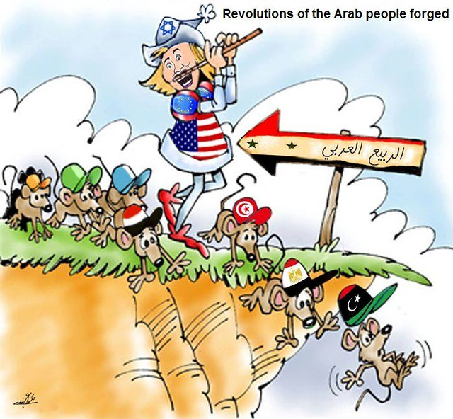 The Arab Revolution is forged