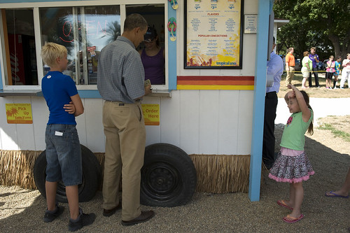 POTUS orders snow cone