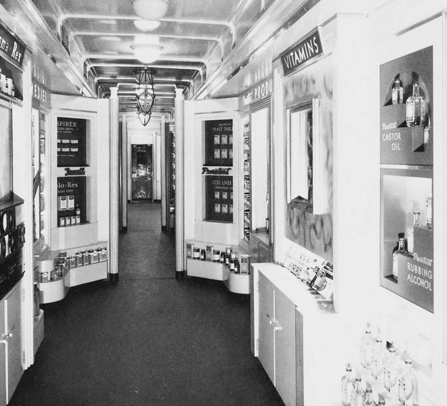 Rexall train interior