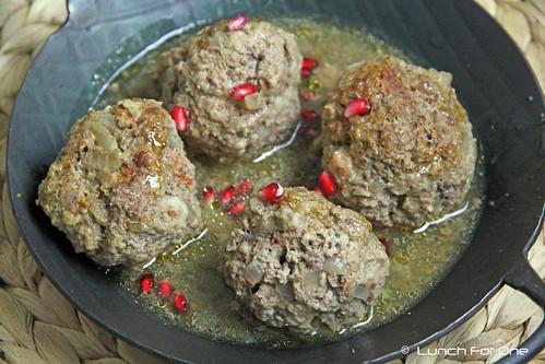 Arabische Fleischklöse