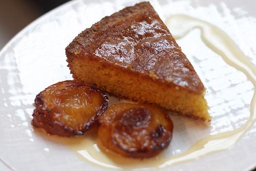 polenta cake plum