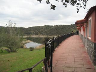 Vista desde el complejo turístico Sierra Huéznar.
