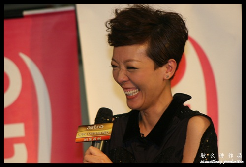 V姐 郭少芸 @ 《Astro On Demand我的最爱颁奖典礼2012》入围名单发布会以及TVB艺人造势活动 ASTRO ON DEMAND AWARDS 2012