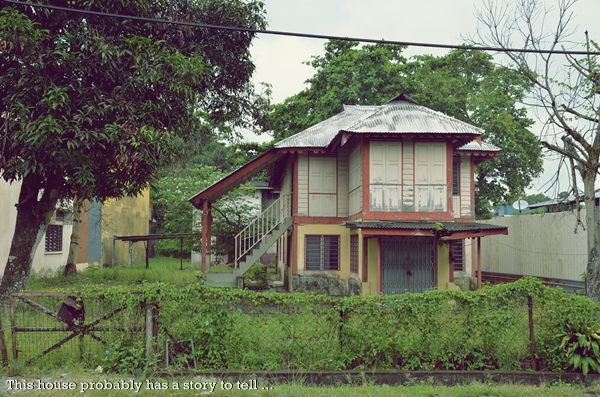 An Old House @ Jalan Pasir Bedamar