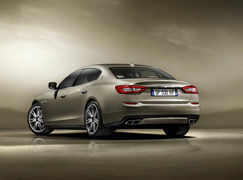 new 2013 Maserati Quattroporte Rear