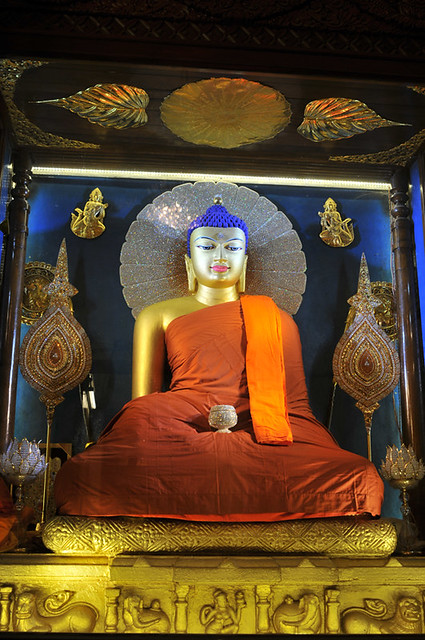 Buddha smiling