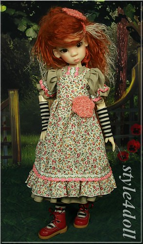 Fashion for Kaye Wiggs MSD - Miki by style4doll by style4doll