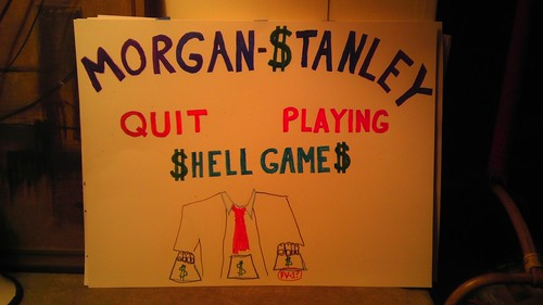 Morgan Stanley Quit Playing Shell Games!