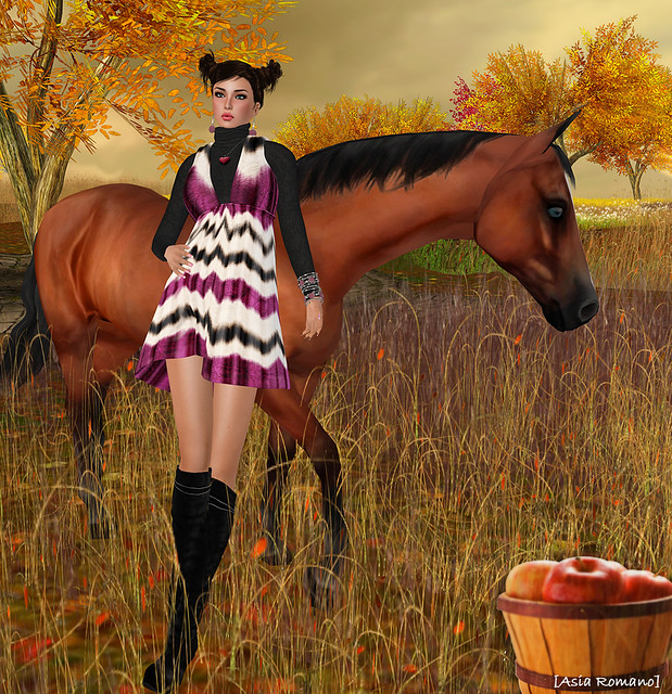 Asia Romano, Second Life Fashion
