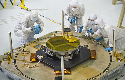 A Clear Reflection on the Webb Telescope's Secondary Mirror