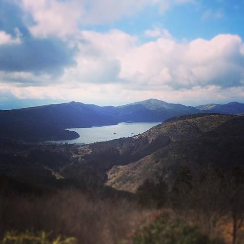 芦ノ湖〜♪