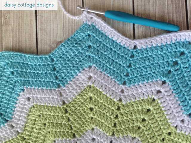 Crochet Star Baby Blanket {Work in Progress} - Daisy ...
