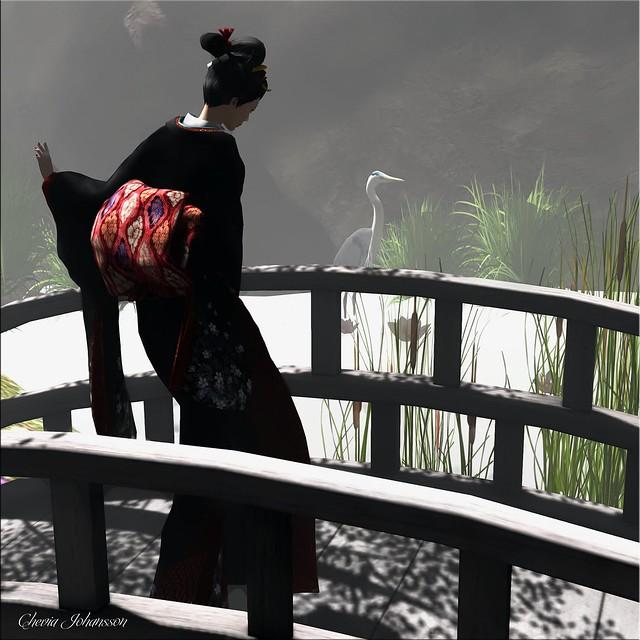 Sakka's Studio - UKIYOeGIRL Kimono KOMACHI