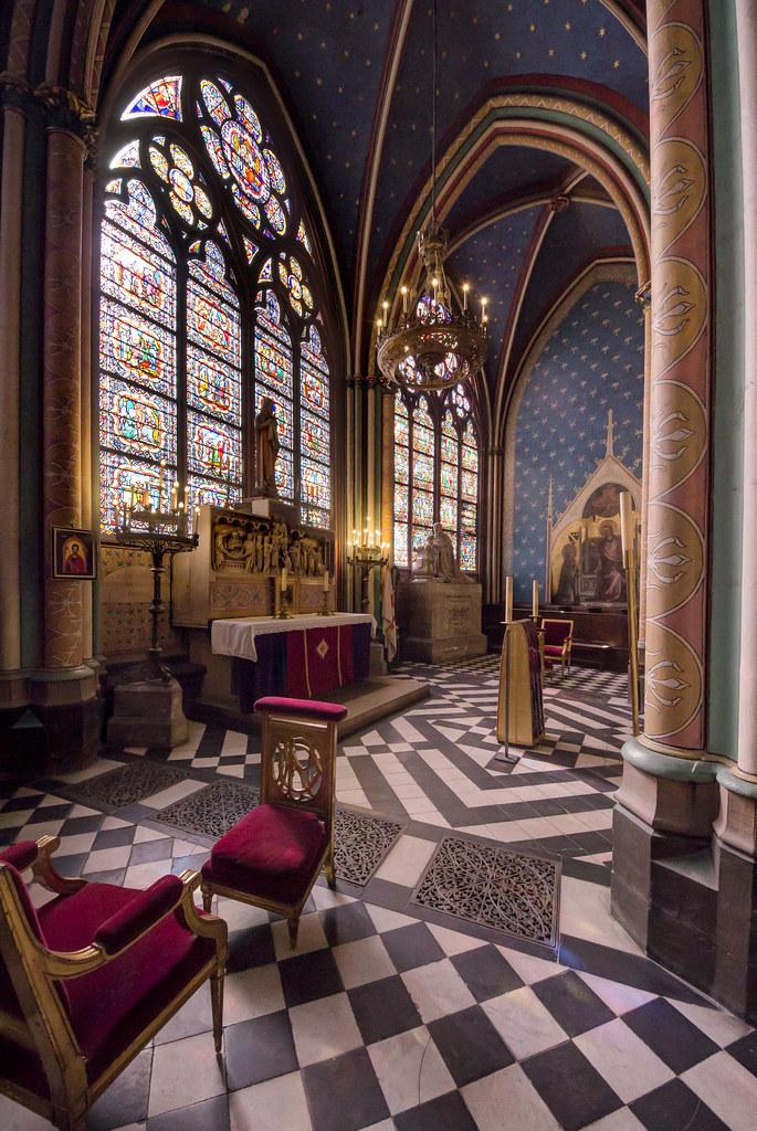 Chapel in Notre Dame de Paris
