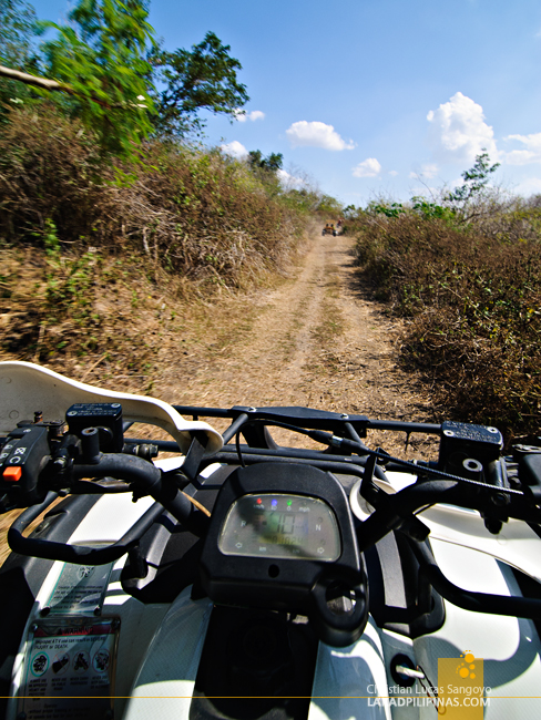 ATV at the Tarlac Recreational Park