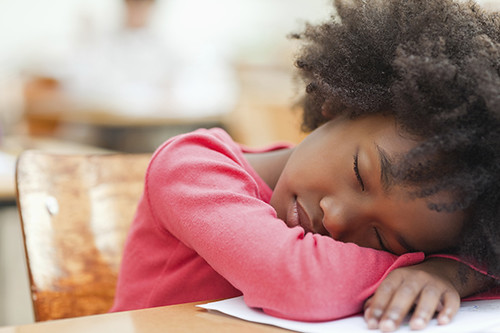 CRCT testing school sleep