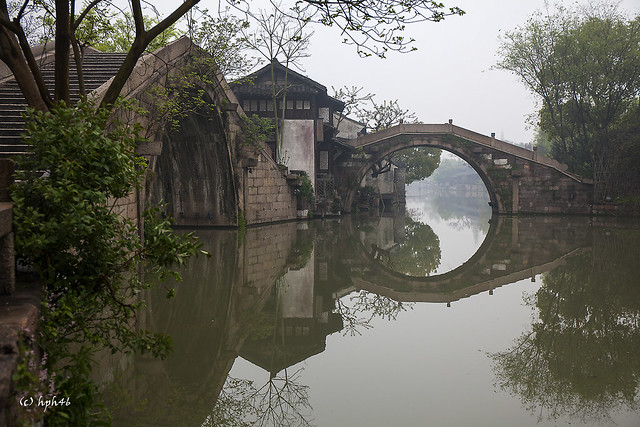 Early morning in Wuzhen