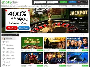 City Club Casino Home