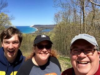 Empire Bluff Trail Selfie
