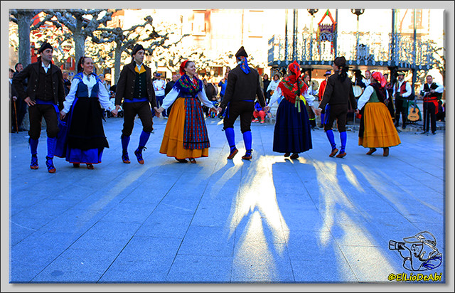 Danzas burgalesas Justo del Río en Briviesca (7)