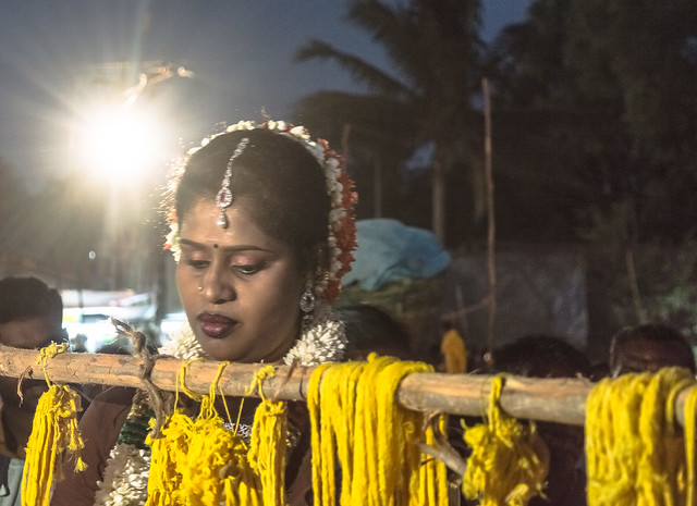 Bride in Spotlight |  Koovagam Annual Transgender Festival,India