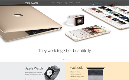 ZT Techland v1.0.0 - Responsive Digital Technology Joomla Template