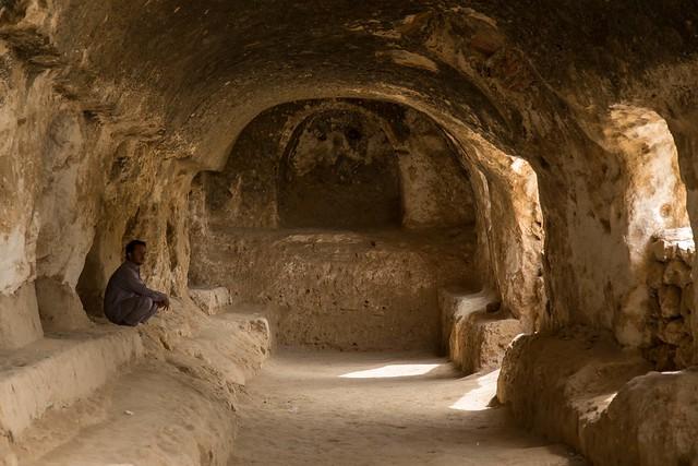 Afghanistan - Samangan, caves