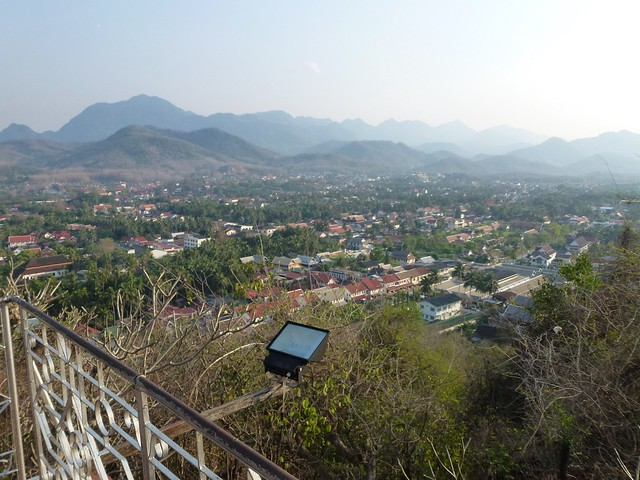 To the North from Mount Phou Si