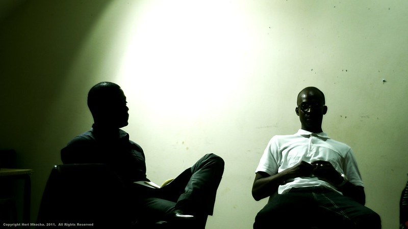 Two Playwrights Talking by Heri Mkocha