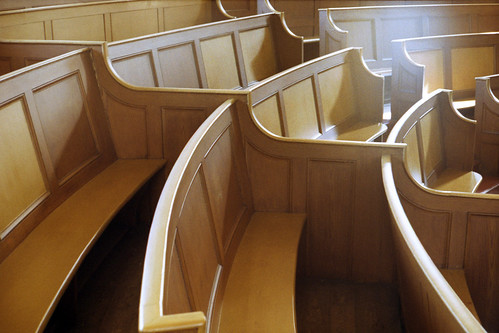 Upper Chapel pews by pho-Tony