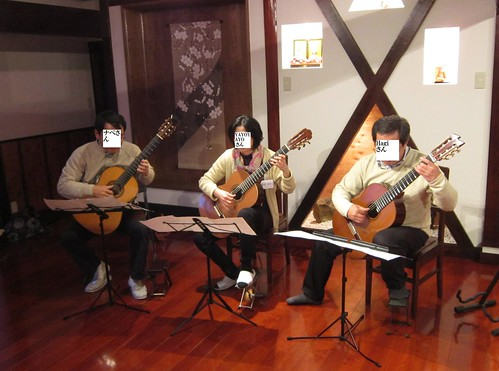 YAYOYAYO・ナベ・Hagi三重奏 2012年3月31日 by Poran111
