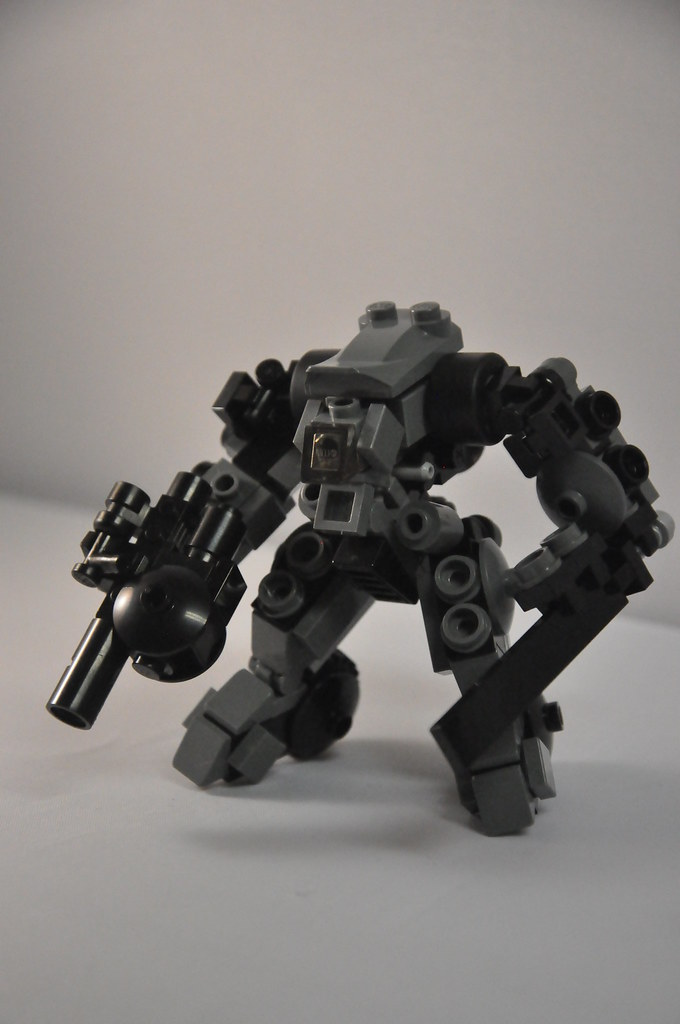 lego mech frame instructions