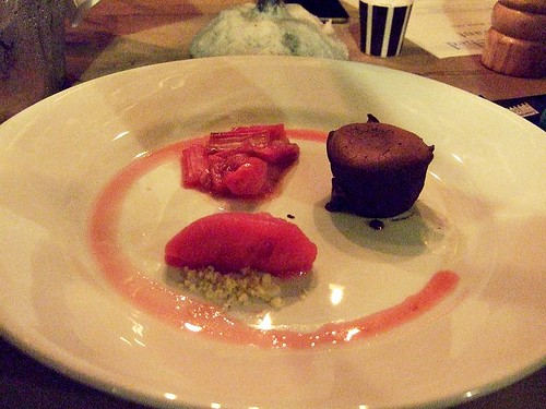 Goods Shed chocolate fondant