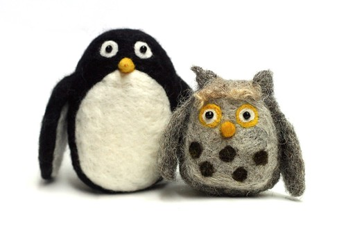 Bosworth the Owl & Penguin
