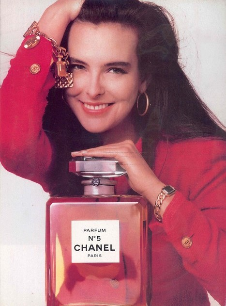 1987 - Carole Bouquet - N°5 perfume by Chanel